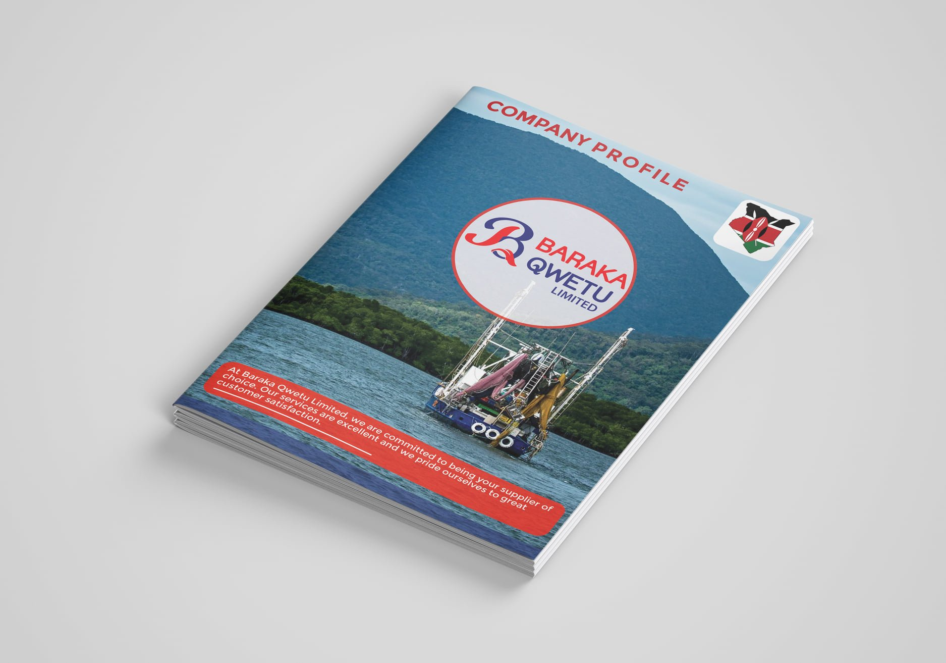 Peasner will design your product and services in an appealing and clearly arranged layout for your Catalog / Company Profile in Kenya